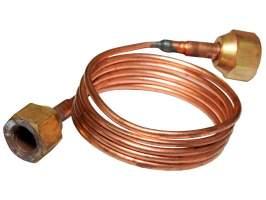 Трубка капиллярная с гайками CTN-150